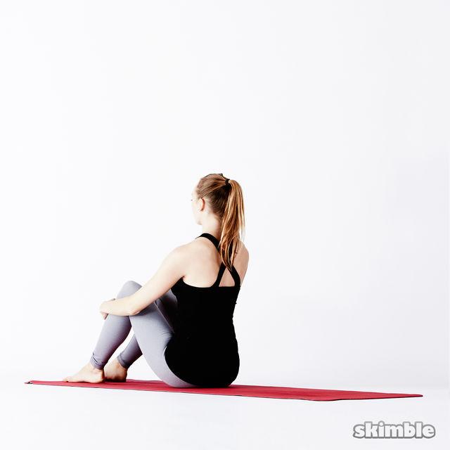 Deep Energy  {YIN Yoga ☯️ Hips,  Spine,  Obliques }  HS