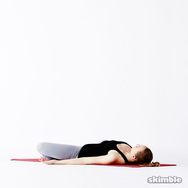How to do: Supine Butterfly - Step 4