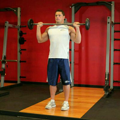 ETP Strength Week (1-3), Day 5:  Military Press, Delts And Biceps