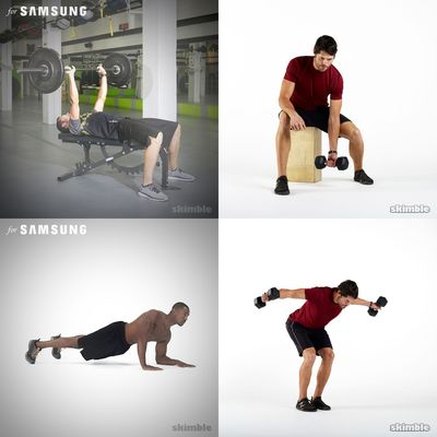 Workouts: Core, Strength, Arms, Weightlifting