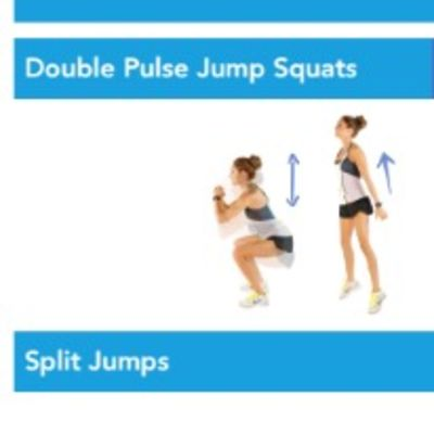 Double pulse jump Squat