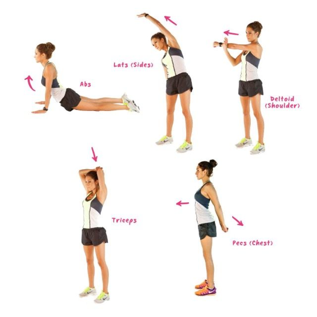 BBG Upper Body Stretch