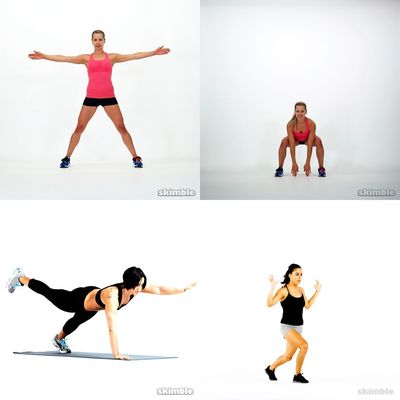 Full body cardio - no equipment