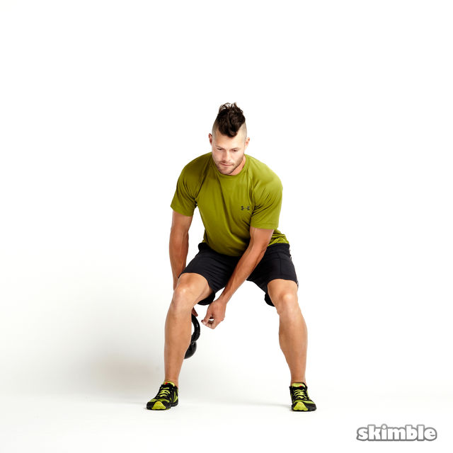 How to do: Kettlebell Figure Eights - Step 5