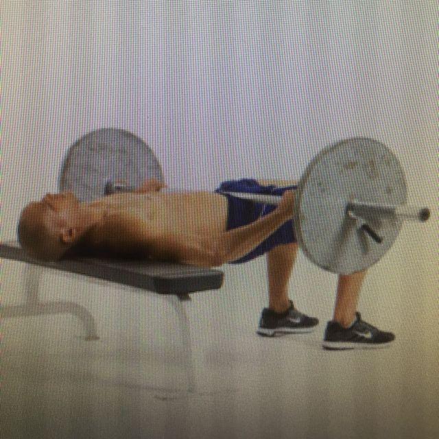 How to do: Kettlebell hip trust - Step 1
