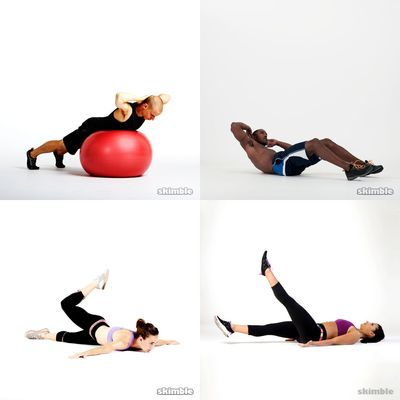 core-stability ball