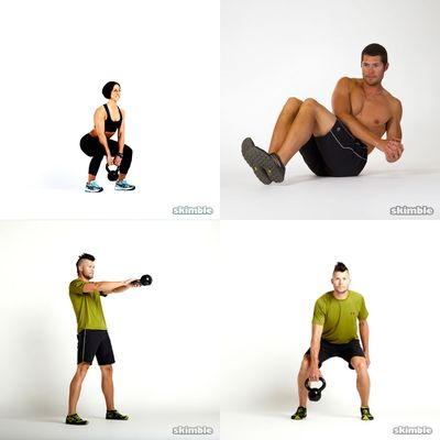Kettlebell, Full Body -- Long