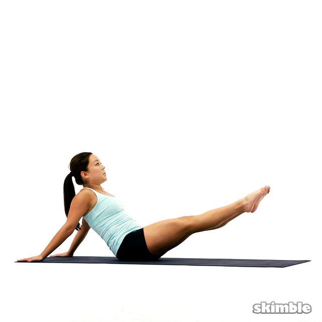 How to do: Pilates Hip Circles - Step 2