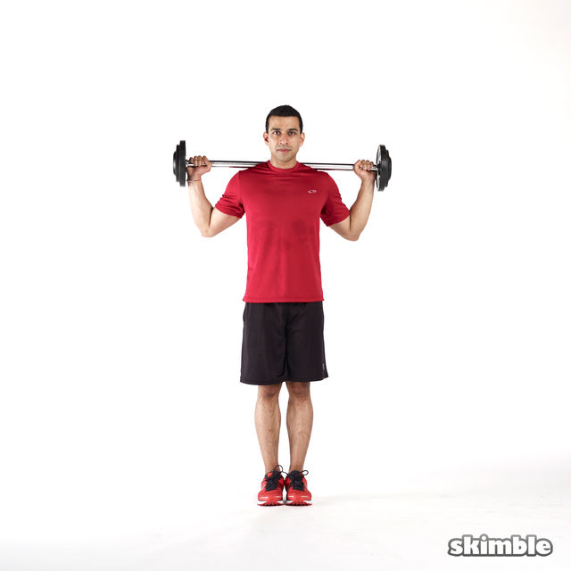 How to do: Barbell Lunges - Step 1