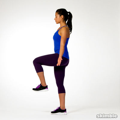 Right Leg Balance with Eyes Closed