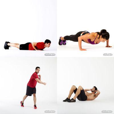Sean's Workouts