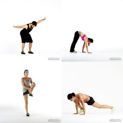 full body workout, warmup, full body, cool down, stretch