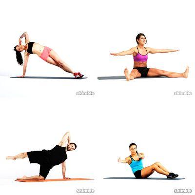 pilates 20 mins