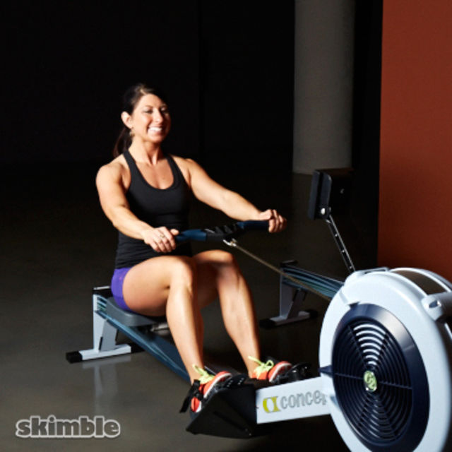 How to do: Moderate Rowing - Step 2