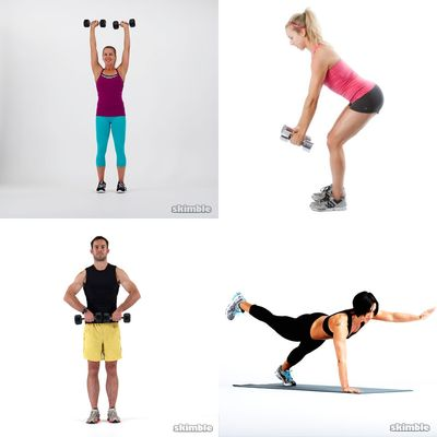 arms w/ weights