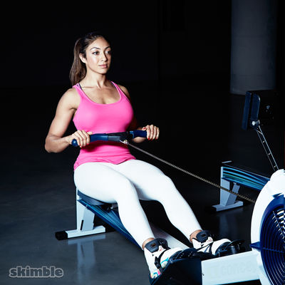 15min Rowing HIIT