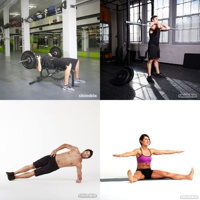 Imli personal weights work out routine