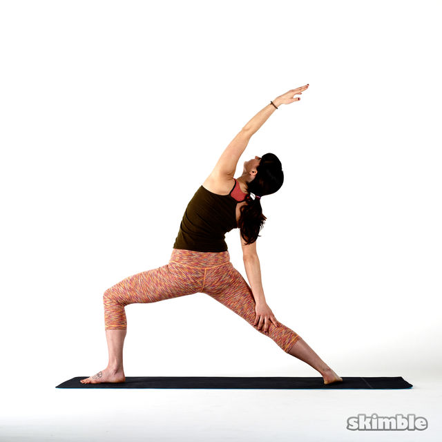 How to do: Left Peaceful Warrior - Step 2