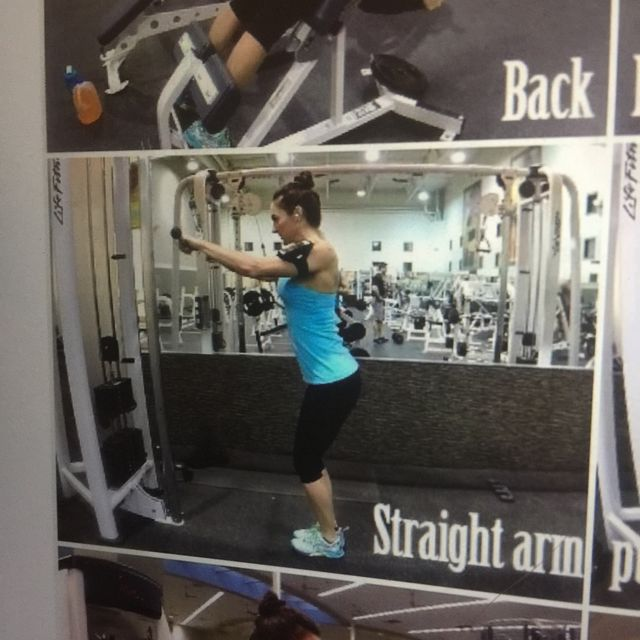 How to do: Straight Arm Pulldown - Step 1