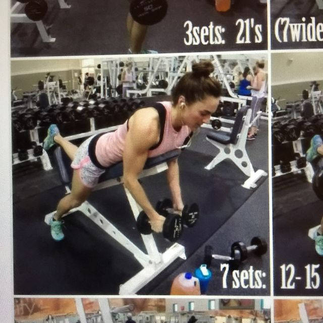 How to do: Inverted Dumbbell Fly - Step 1