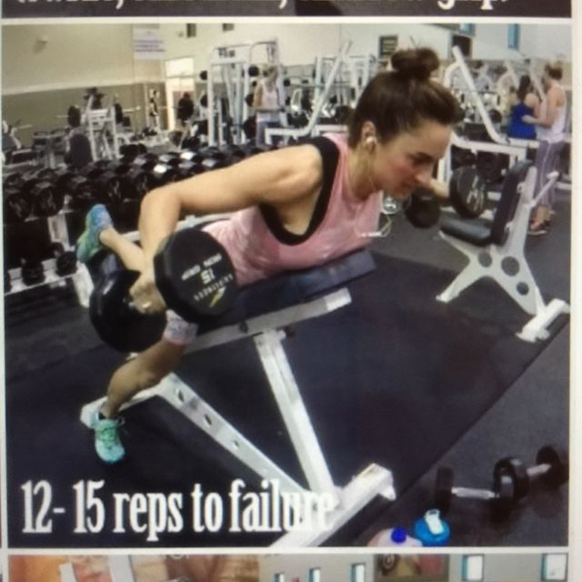 How to do: Inverted Dumbbell Fly - Step 2