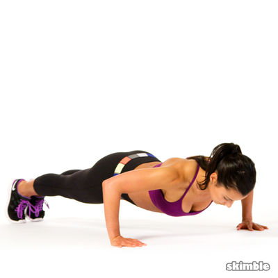 Chest Slap Push-Ups