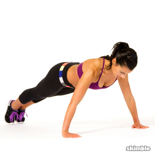 How to do: Push-Ups - Step 3