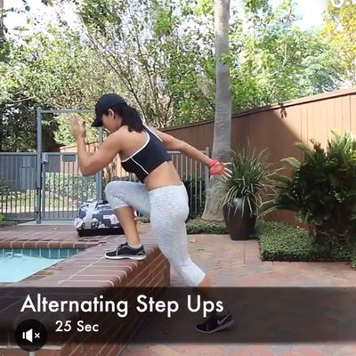Alternating Step Ups