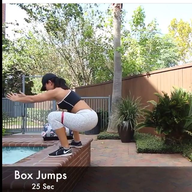 How to do: Box Jumps With Band - Step 1