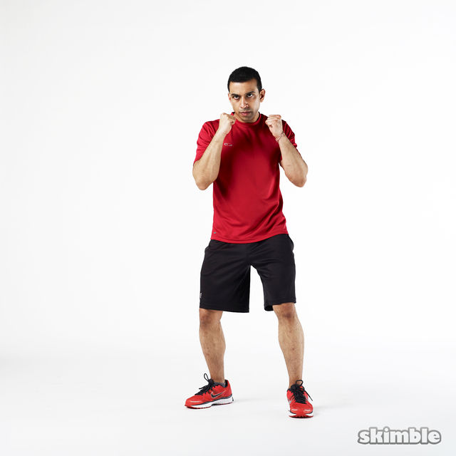 How to do: Left Jabs - Step 1