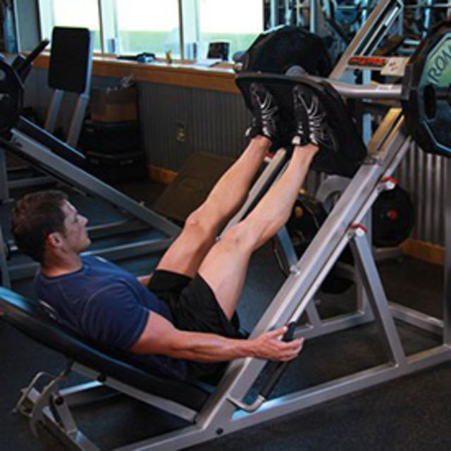 How to do: Machine Leg Press - Step 1