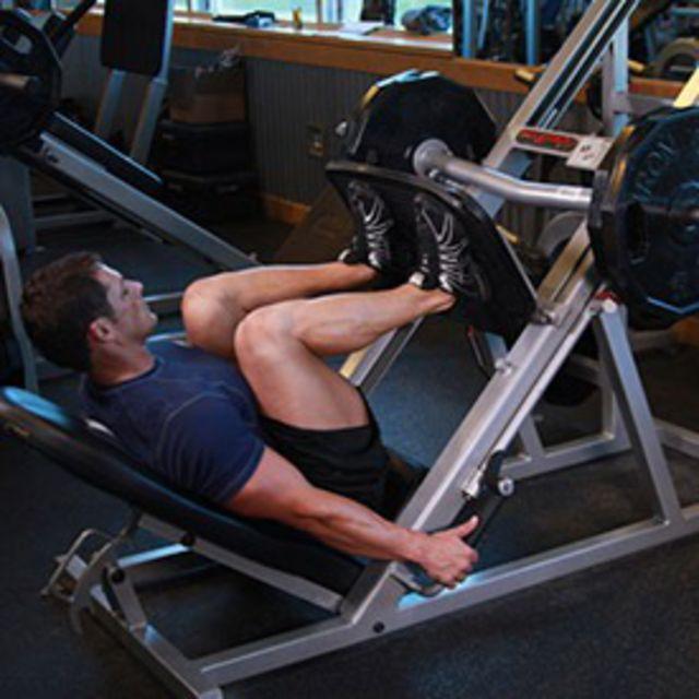 How to do: Machine Leg Press - Step 2