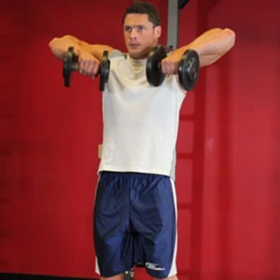 Upright Rows (Dumbbell)