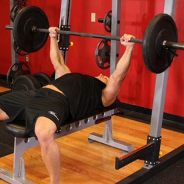 How to do: Flat Bench Press - Step 1