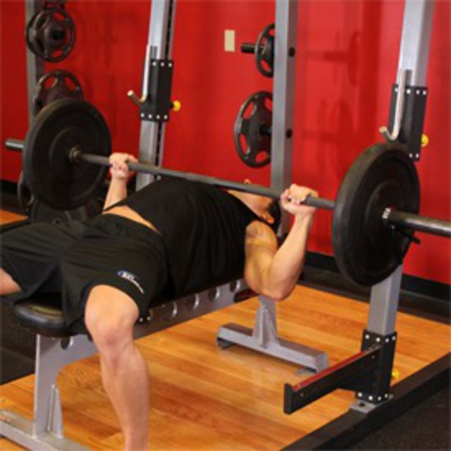 How to do: Flat Bench Press - Step 2