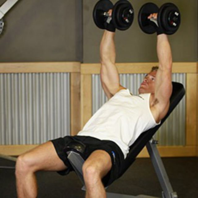 How to do: Incline Press (Dumbbell) - Step 2