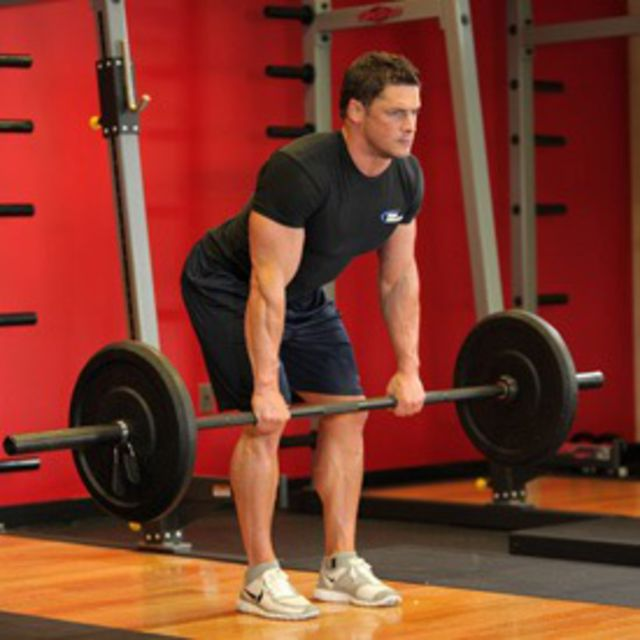 How to do: Bent Over Barbell Rows - Step 1