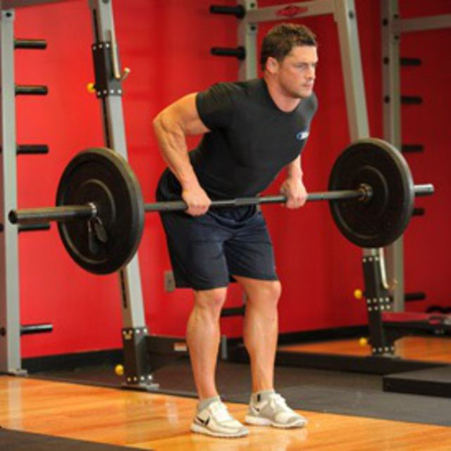 How to do: Bent Over Barbell Rows - Step 2