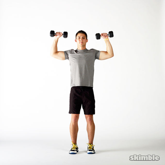 6 minute AMRAP SHOULDERS