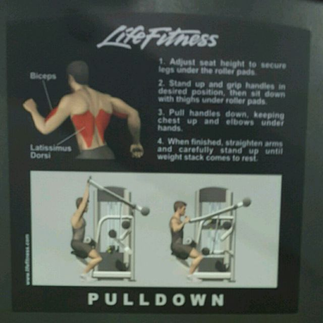 How to do: Pulldown - Step 2