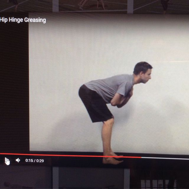 How to do: Hip Hinge - Step 1