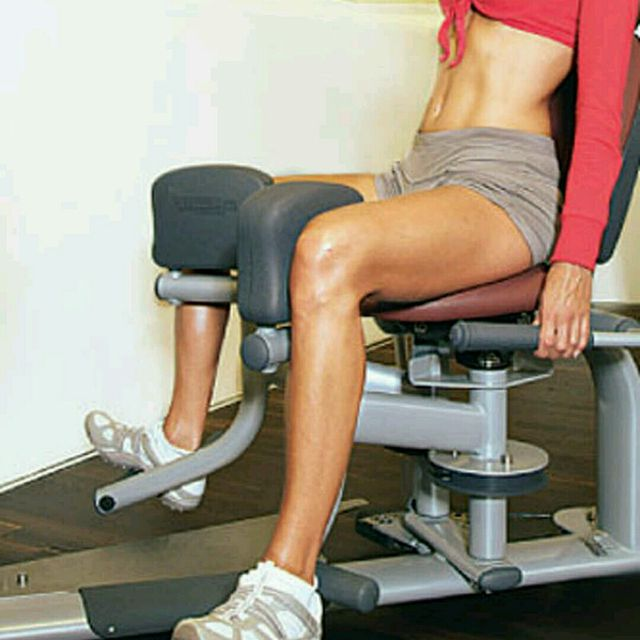 How to do: Adductor Machine - Step 1