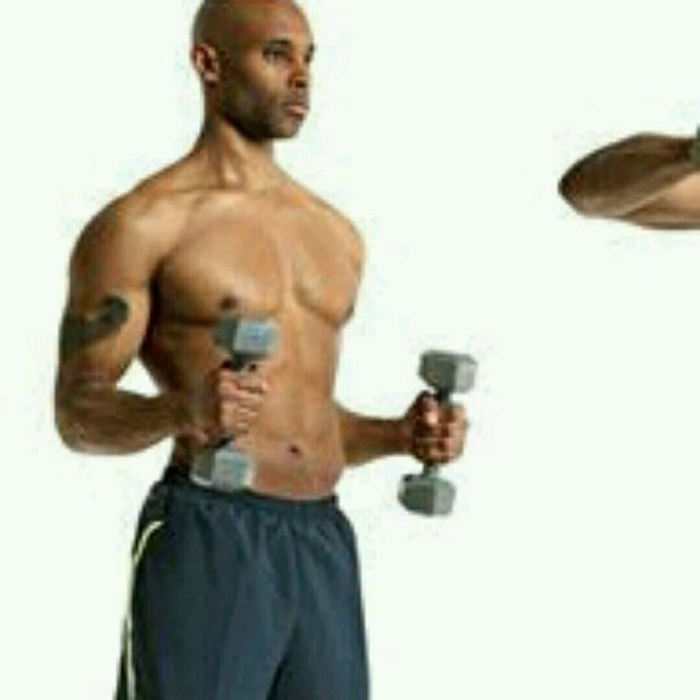 How to do: Dumbbell Upright Side Rotations - Step 1