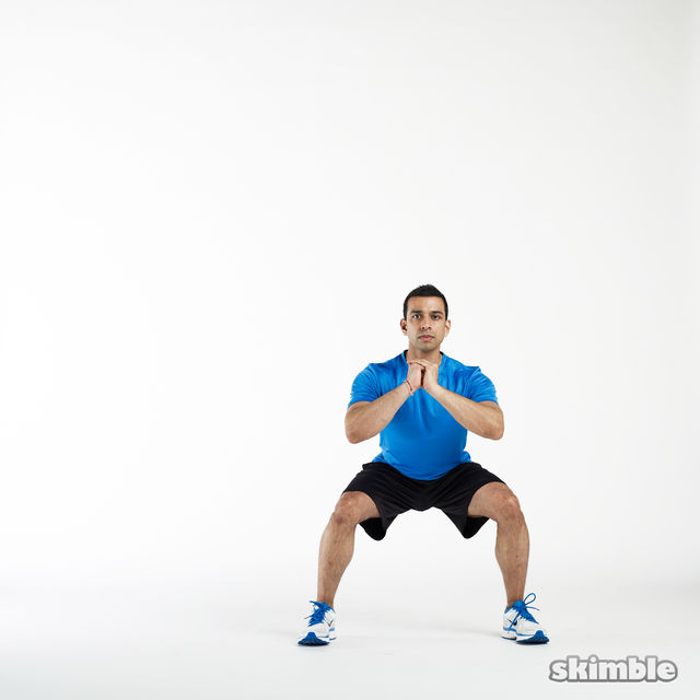How to do: Side Squats - Step 6