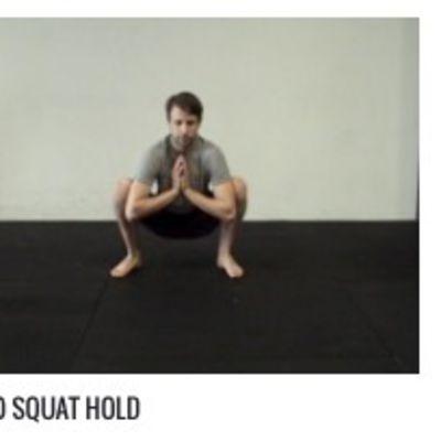 Sumo Squat Hold 5 Second