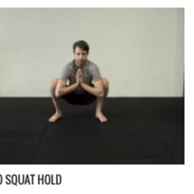How to do: Sumo Squat Hold 5 Second - Step 1