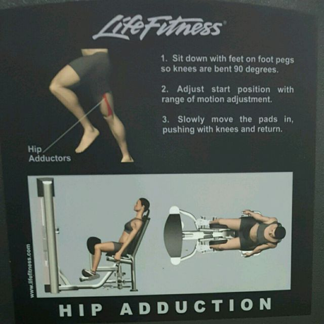 How to do: Hip Adduction - Step 2