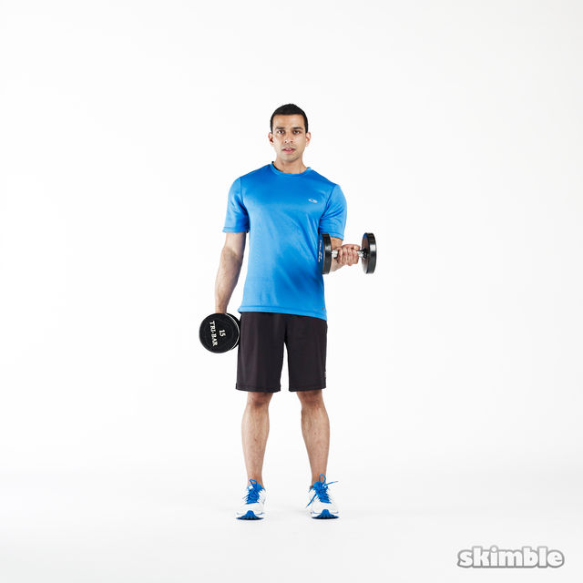 How to do: Isometric Bicep Curls - Step 3