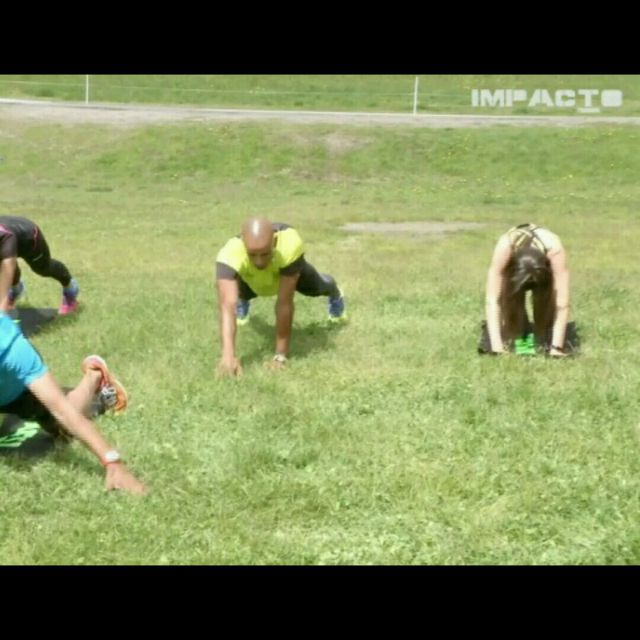 How to do: Plank Hands Out - Step 8