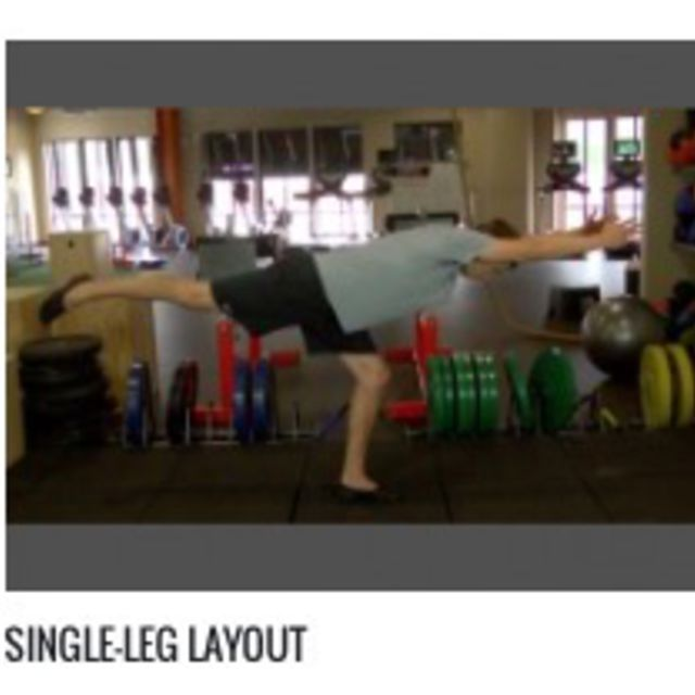 How to do: Single Leg Layout - Step 1